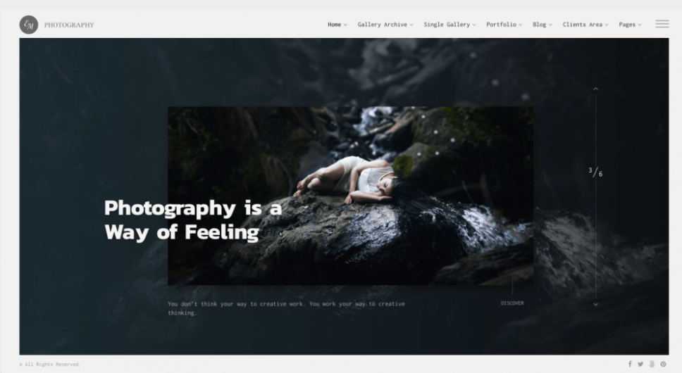 theme for photographers
