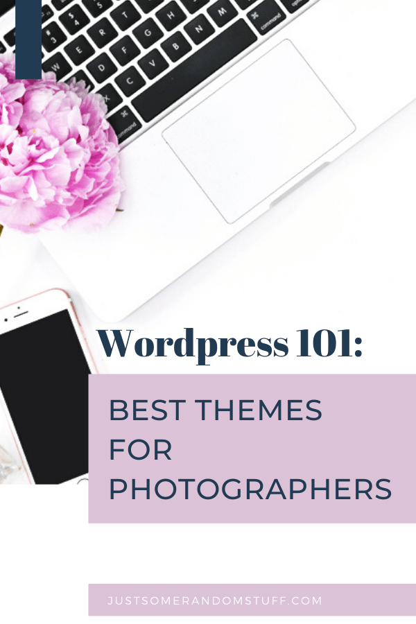 themes for photographers Pinterest