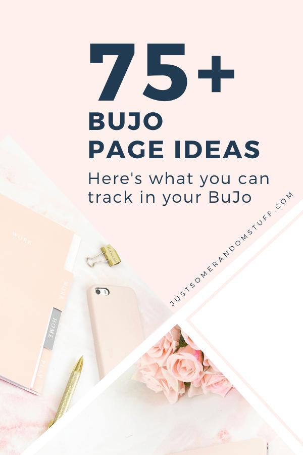Bullet Journal page ideas Pinterest