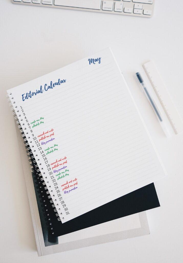 bullet journal for bloggers