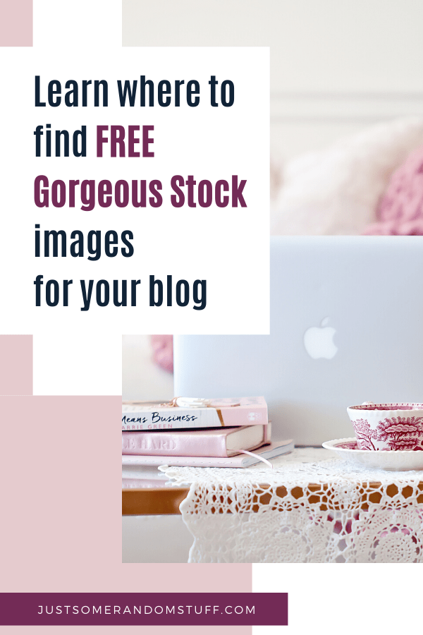 blog stock photo - Pinterest