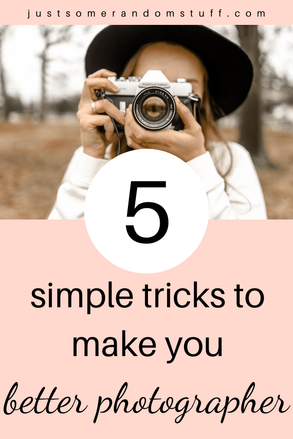You want to be a better photographer, but don't know where to start? I've compiled some simple tricks that helped me when I decided to get better at photography and level up my skills.