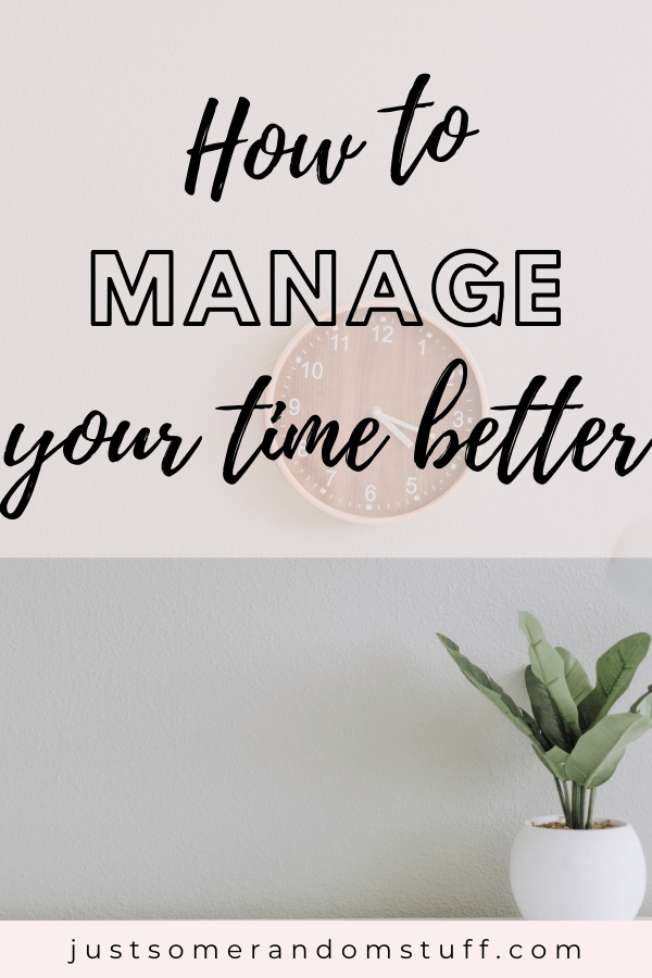 Here is a Method That is Helping Me to Manage my Time Better
