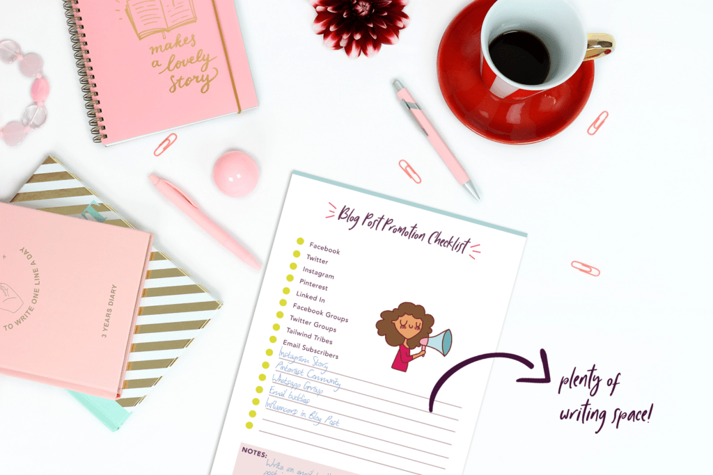 free resources blog planner