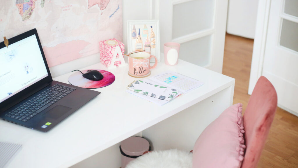 full time job and blogging