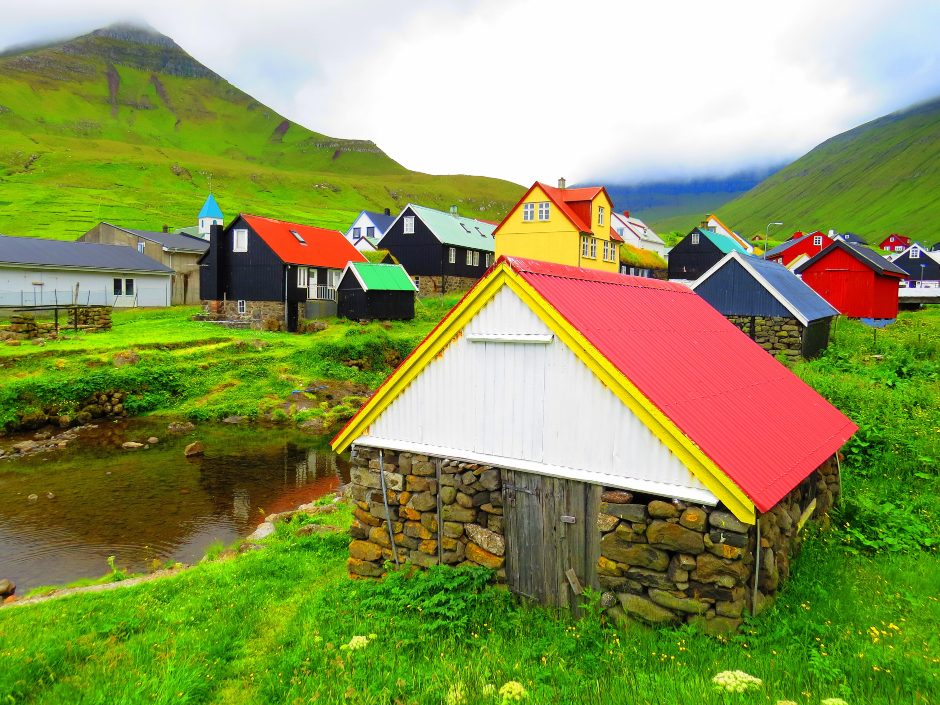 Colorful villages in the Faroe Islands - travel bucket list