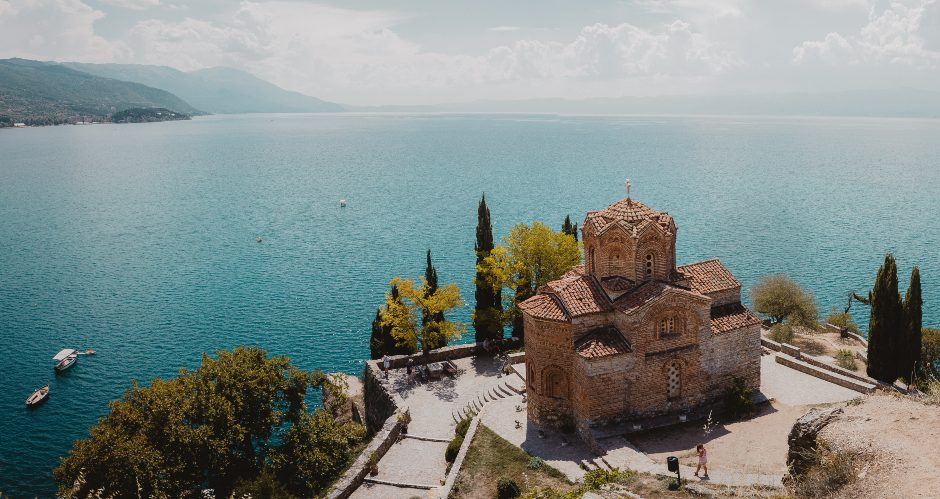 View of the Ohrid lake - travel bucket list