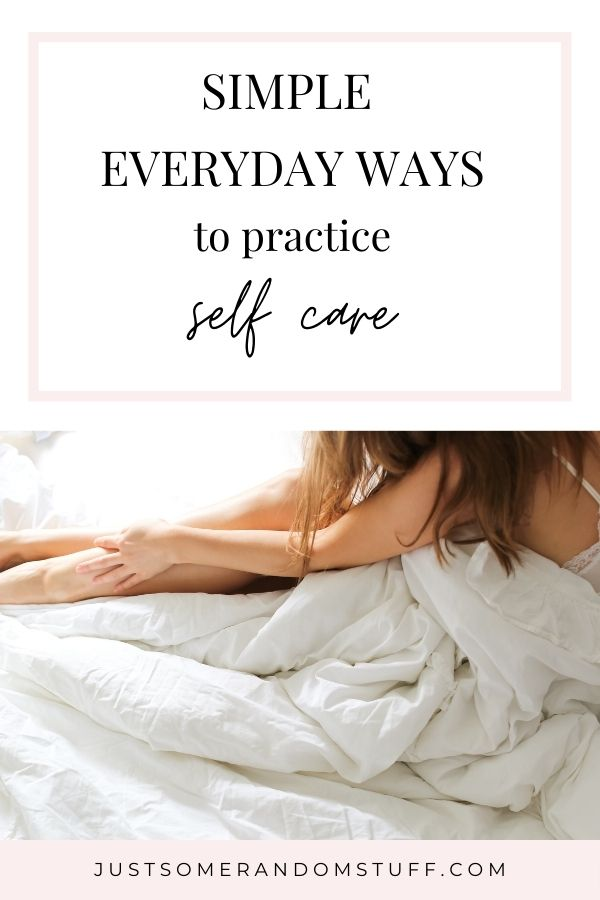 Self care is vitally important not just for stress relief but also for overall mental health. It can do everything from help after a bad day to improve your self confidence. It also doesn't take a lot to take proper care of yourself. Here are some different ways to practice self care every day.