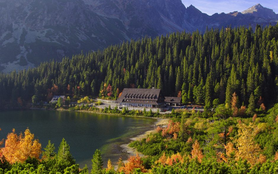 Amazing view in the Tatra mountains - travel bucket list