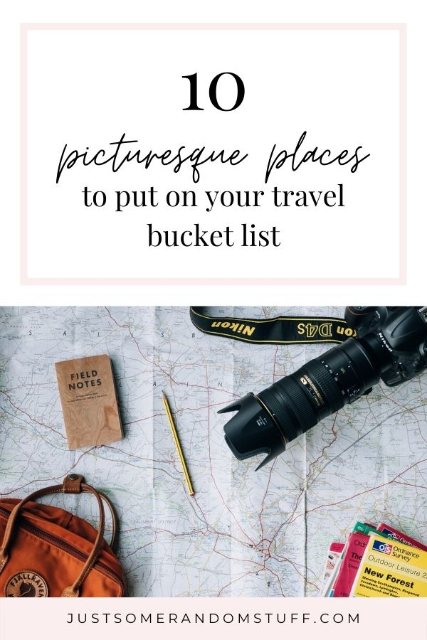 Having a travel bucket list is just like having a regular bucket list, just that this one is focused on places you want to visit.  I love creating lists, especially with the places I would like to visit. Without further ado, here's part of my travel bucket list.