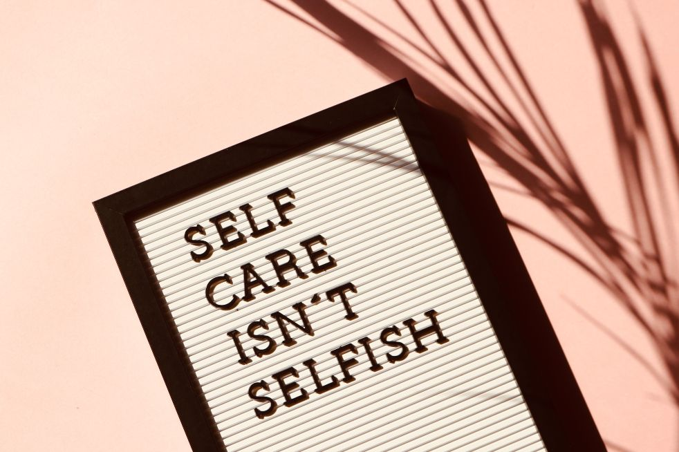 practicing self care isnt' selfish