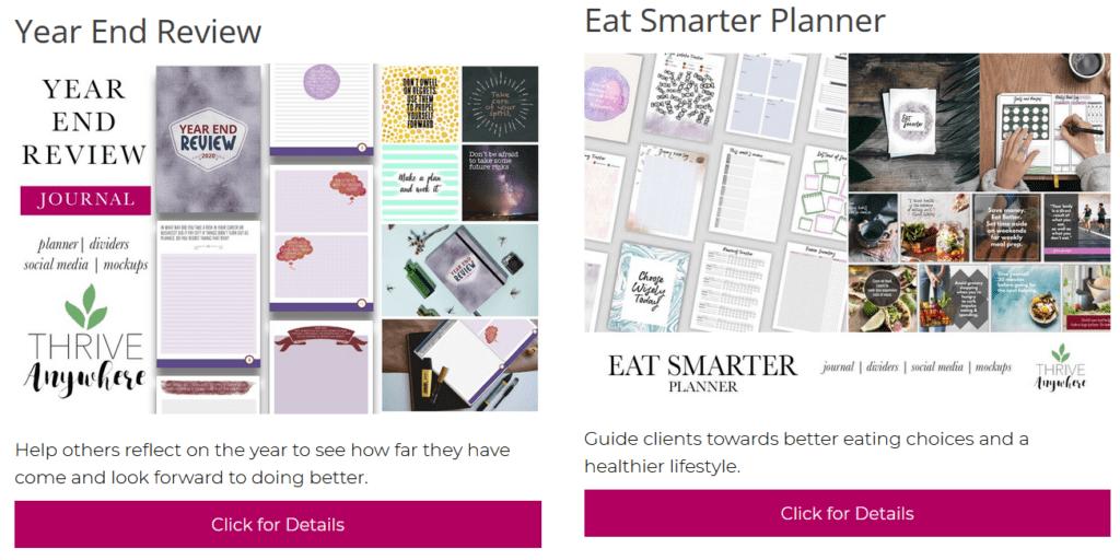 plr planner templates